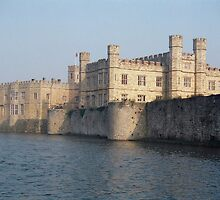 Leeds Castle, England by Kymbo