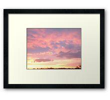 Sunset 2 Framed Print