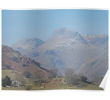 Clear morning, Langdale Poster