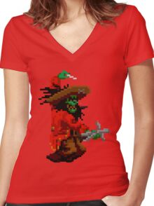 LeChuck (Monkey Island) Women's Fitted V-Neck T-Shirt