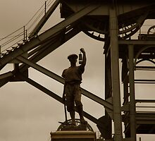 Miner at Woodthorn Colliery by Jackie Wilson
