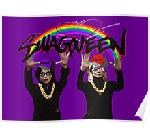 SwagQueen over the Rainbow Poster