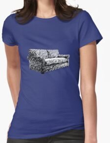 Sofas and Sleepness Womens Fitted T-Shirt