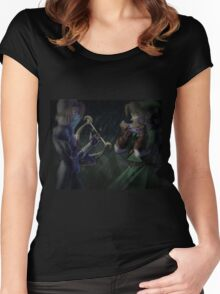 Ocarina of Time Women's Fitted Scoop T-Shirt