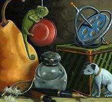 YoYo - still life by LindaAppleArt