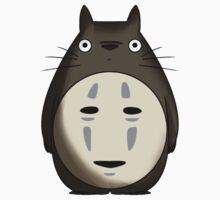 Totoro No Face Kids Clothes