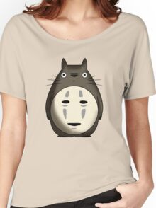 Totoro No Face Women's Relaxed Fit T-Shirt