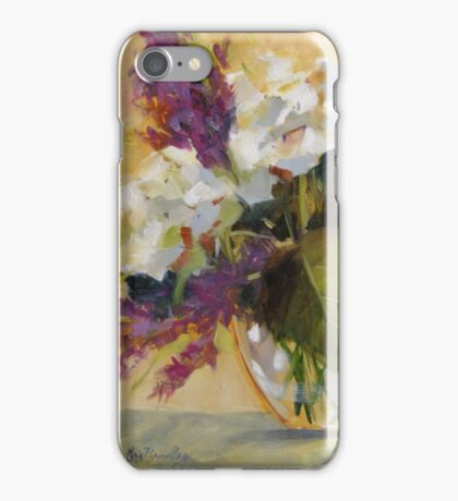 Hydrangeas by Chris Brandley iPhone Case/Skin