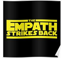 The Empath Strikes Back - Star Wars Parody - Subversive Symbolism Poster