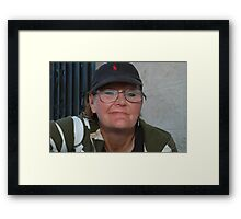 """ Sue "" Framed Print"