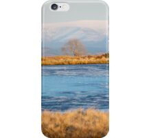 Frozen Pond in the Brecon Beacons iPhone Case/Skin