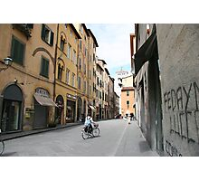 Streets of Lucca Photographic Print