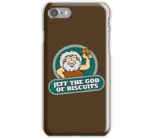 Jeff the God of Biscuits iPhone Case/Skin