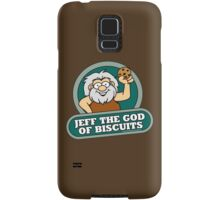 Jeff the God of Biscuits Samsung Galaxy Case/Skin
