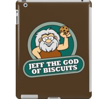 Jeff the God of Biscuits iPad Case/Skin