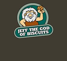 Jeff the God of Biscuits Unisex T-Shirt