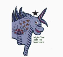 High-five Starlet Hyunicorn Kids Tee