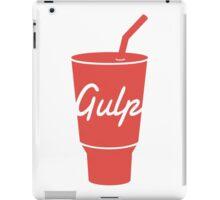 Gulp logo iPad Case/Skin