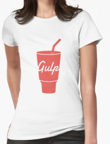 Gulp logo Womens Fitted T-Shirt