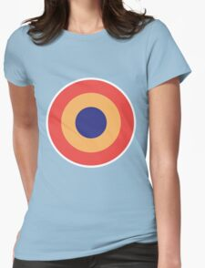 Keith Moon Roundel Womens Fitted T-Shirt