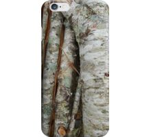 Birch and Cherry Logs iPhone Case/Skin