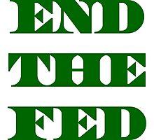 End The Fed - Financial Terrorism -Fraud - Ponzi Photographic Print