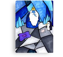 The Ice King and Gunter Canvas Print
