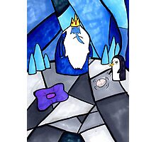 The Ice King and Gunter Photographic Print