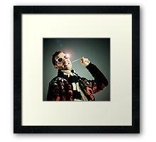 Mr. Bubblegum Framed Print