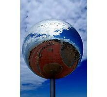 Giant Disco Ball Photographic Print