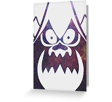 Hater Universe White Phone Case Greeting Card