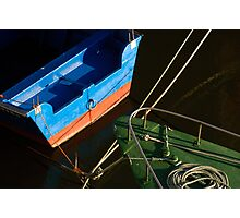 Boats in colour Photographic Print