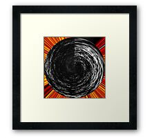 black channel reconstruction Framed Print