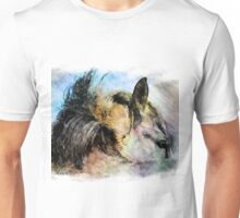 Portrait of a Clydesdale Unisex T-Shirt