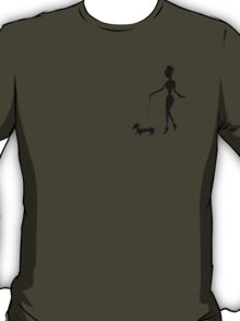 Flaunting The Pooch (violet) T-Shirt