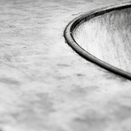 Coping, Barnstaple Skate Park by John Burtoft