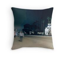 Caught Between Desire & Reality Throw Pillow