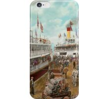 Boat - A vacation to remember - 1901 iPhone Case/Skin