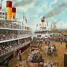 Boat - A vacation to remember - 1901 by Mike  Savad