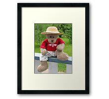 Bear's Lazy Summer Days Framed Print
