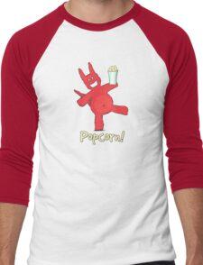 Popcorn! Men's Baseball ¾ T-Shirt