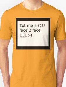 Face 2 Face, Funny T-Shirt