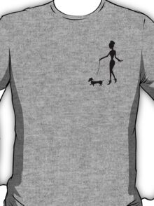 Flaunting The Pooch (peach) T-Shirt