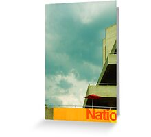 natio Greeting Card