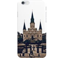 New Orleans Jackson Square iPhone Case/Skin
