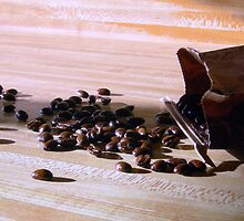 Coffee Beans by tanithastlik