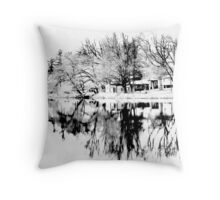 Oswegatchie River Throw Pillow