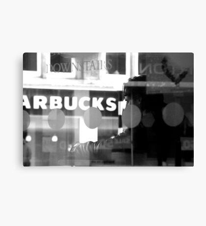 Text & Coffee Canvas Print