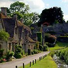 Cotswold Village by Rachel Slater