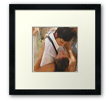 Tango Passion/homage to the masters Framed Print